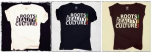 Roots Reality Culture tees