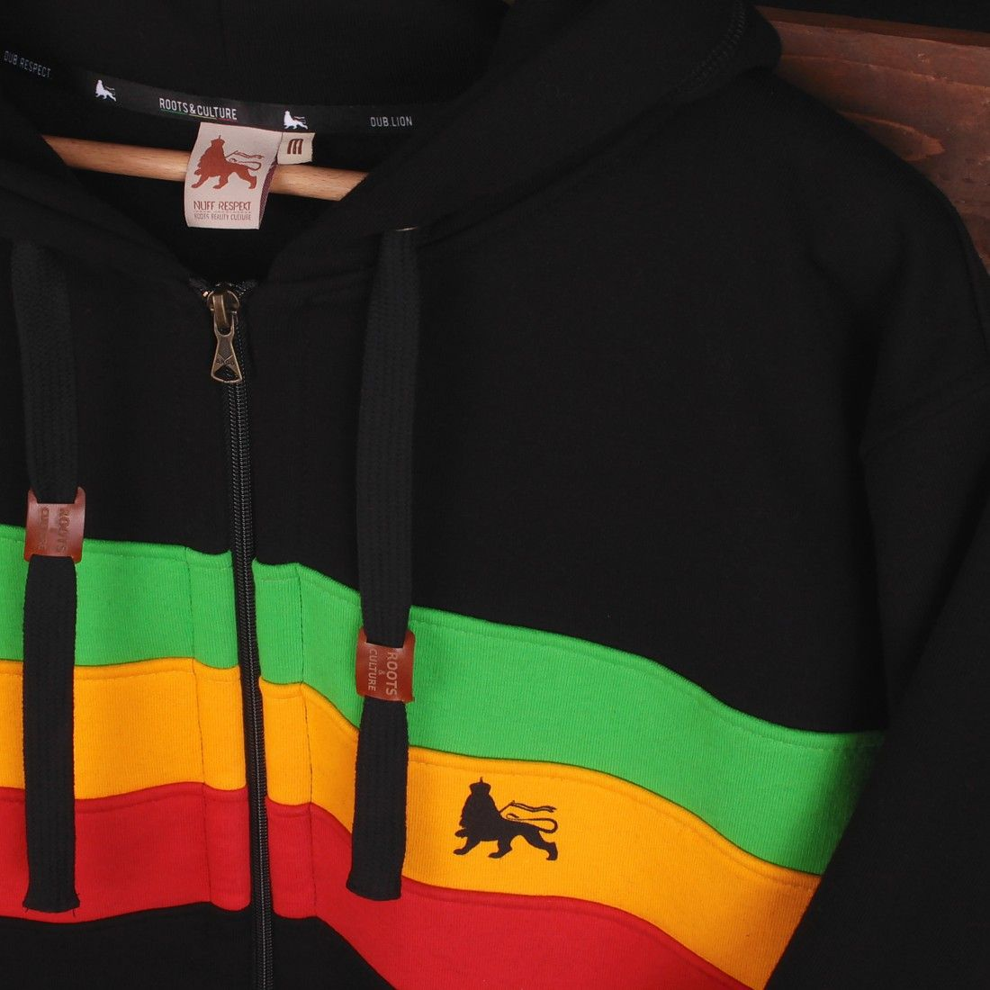 d9d6d9ec Men's » Rasta Hoodies & Sweats » Dub Lion Zip Hoodie | Rasta Reggae - Rasta  Reggae shop - NuffRespekt.com | Roots Reality Culture