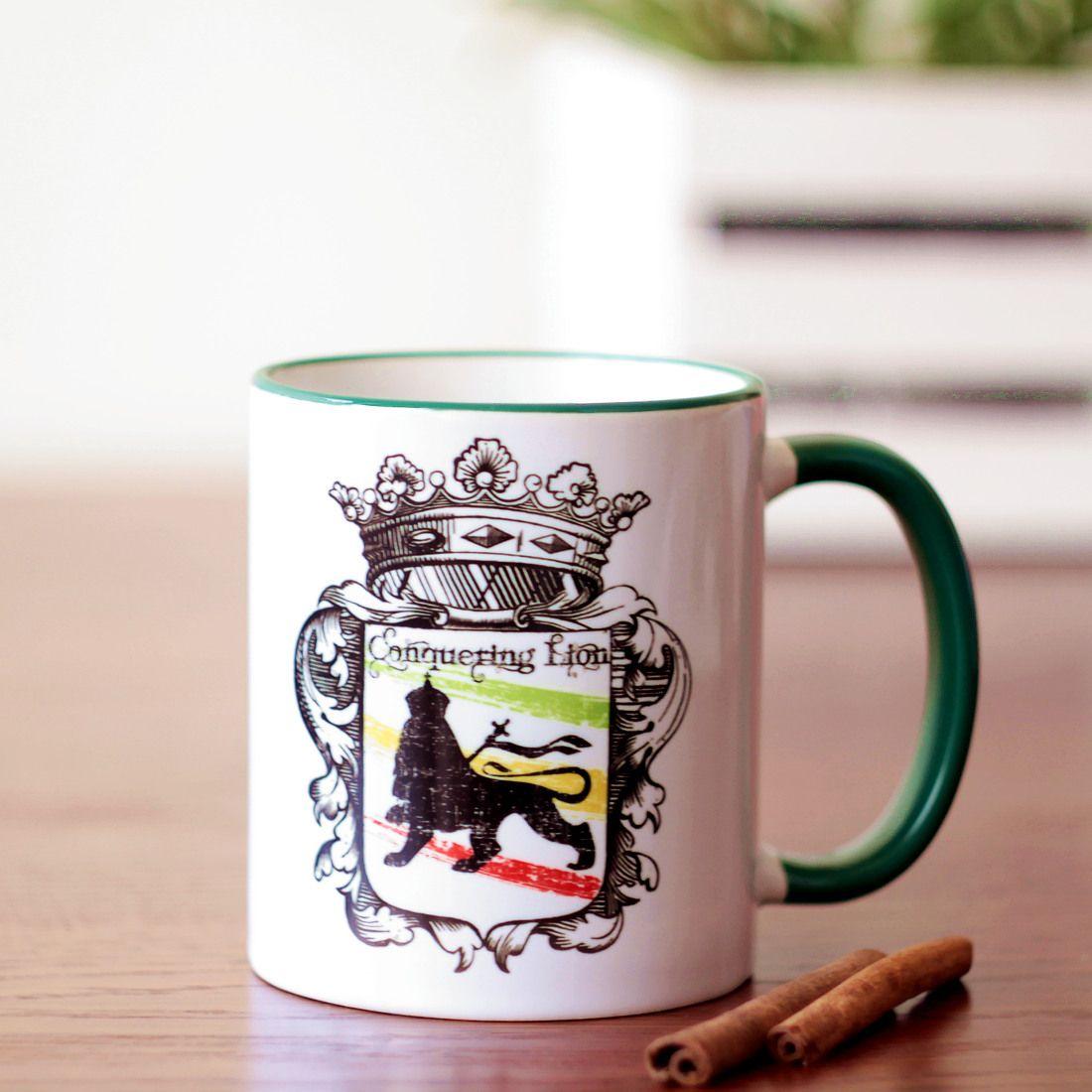 Rasta Accessories » Mugs & Cups » Conquering Lion Coffee Mug