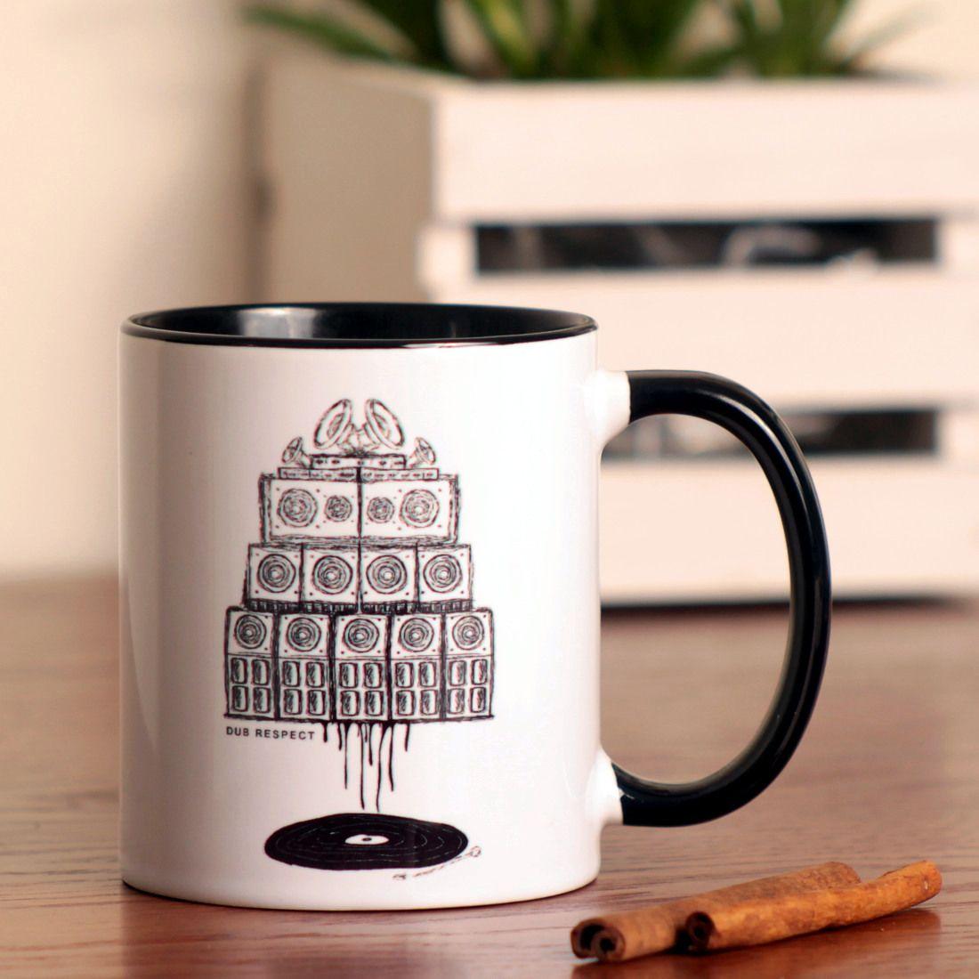 Rasta Accessories » Mugs & Cups » Vinyl & Sound System wall
