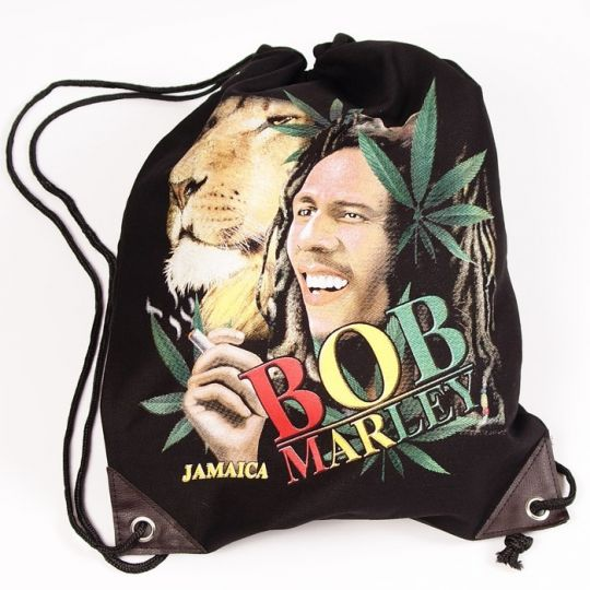 Bob Marley Canvas Tote Backpack Bag #1