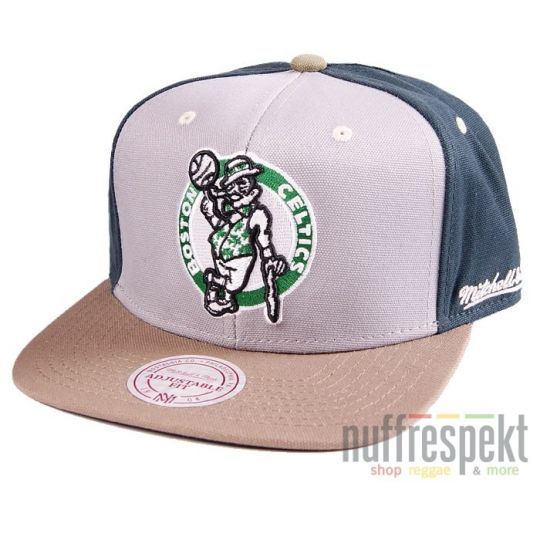 Mitchell & Ness - Clay snapback - Boston Celtics