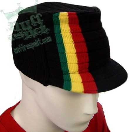 Rasta hat - black