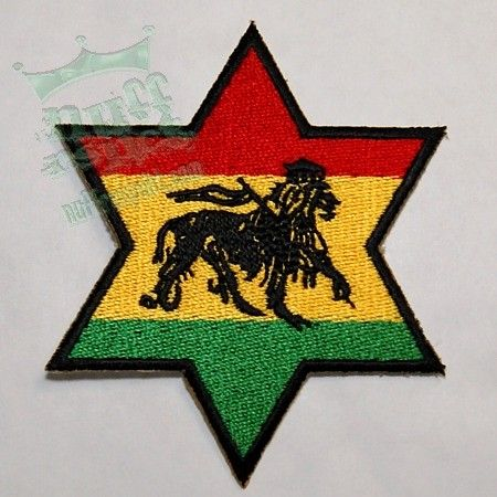 Lion of Judah - star patch