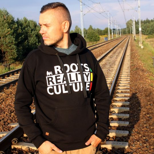 Roots Reality Culture unisex hoodie | black