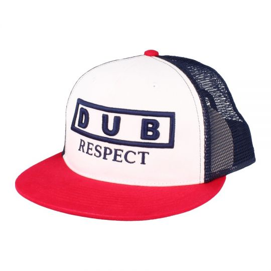 Czapka Snapback Dub Respect | Navy /Red/White