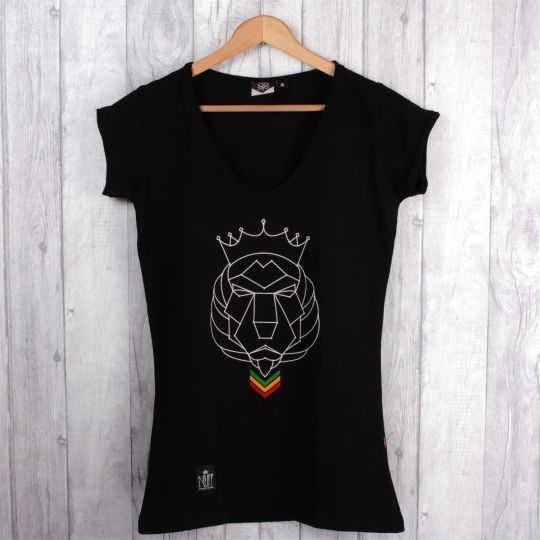 Rasta Courage damski tshirt
