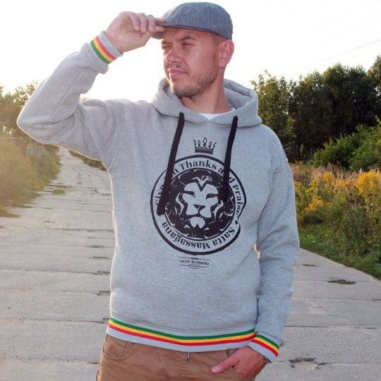 Give Jah thanks and Praise Satta Massagana hoodie