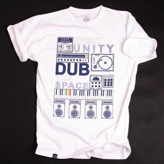 Every Unity Dub The Space Tshirt - white