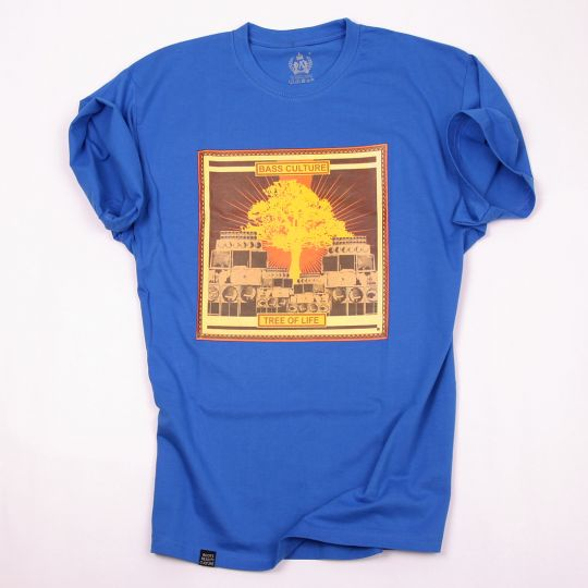Bass Culture - Tree of Life tshirt | blue