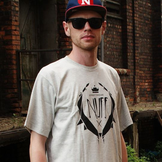 Nuff Wear T-shirt - Logo 0214 - gray