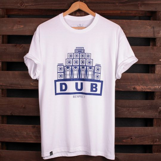 Dub Respect t-shirt | white