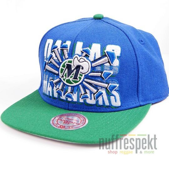 Czapka Mitchell & Ness Snapback - Dallas Mavericks NBA