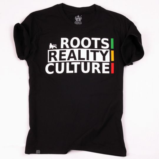 Roots Reality Culture | black tshirt