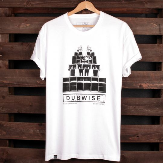 Dubwise No Compromise tshirt | biały