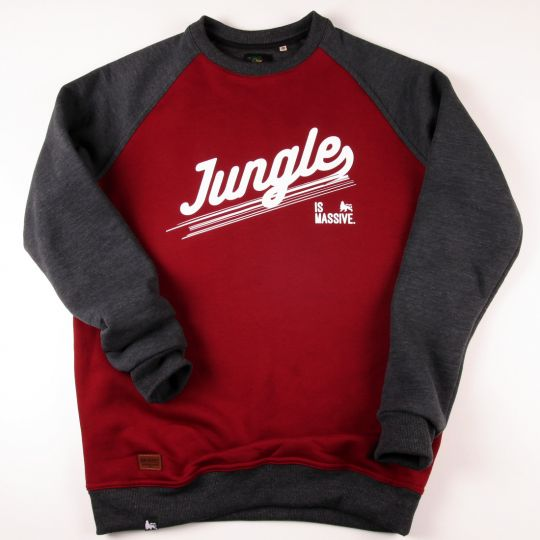 Bluza crewneck | Jungle is massive