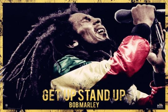 Bob Marley Get Up Stand Up poster - LP1581