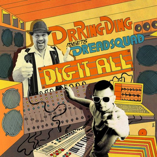 Dr.Ring Ding meets Dreadsquad – Dig It All - digipak
