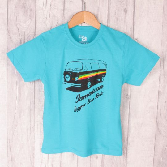 Kids t-shirt | Jamaican Reggae Bus Ride