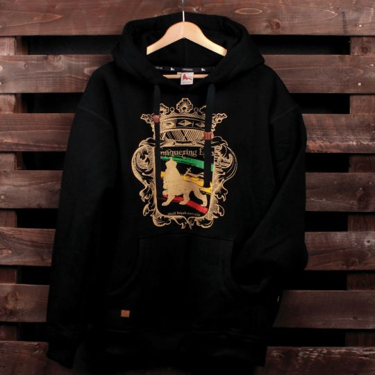 Conquering Lion shall break every chain hoodie