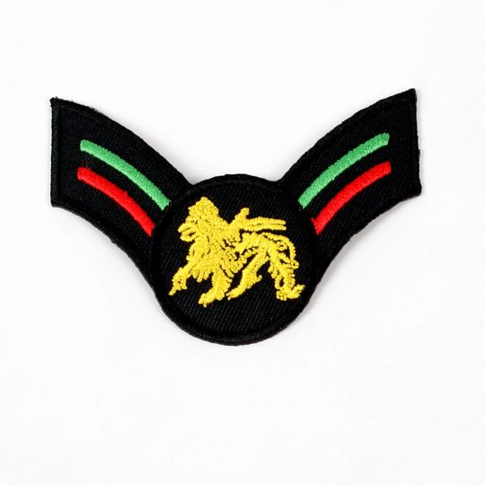Rasta patch - warrior style