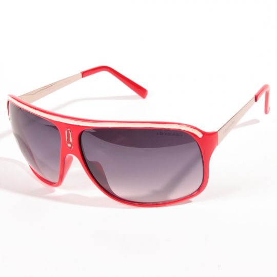 Street style red frames Sunglasses