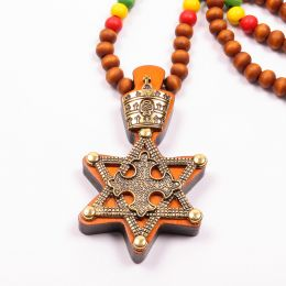 Necklace - hexagram with Lion of Judah