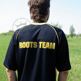 Football T Shirt - Roots Team - Nuff Respekt black