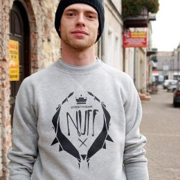 Nuff wear Crewneck - Black Logo