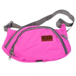 Dub Respect pink fanny pack  [SAMPLE SALE]