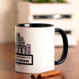 The Only good system is a sound system Coffee Mug or Tea Cup 330 ml