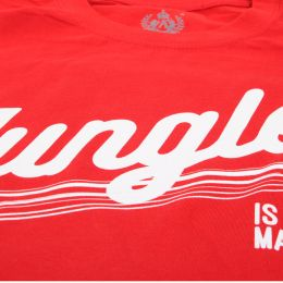 Tshirt Jungle is massive | czerwony