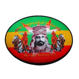 His Imperial Majesty rasta patch