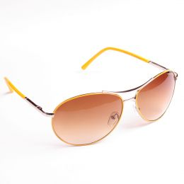 Street style yellow frames Sunglasses