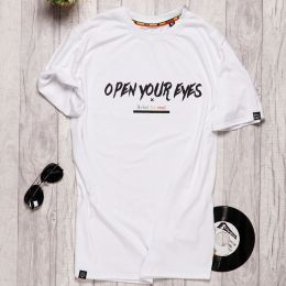 Open Your Eyes Rebel for Real t-shirt