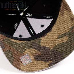 Czapka Snapback Nuff Wear - Black & Gray