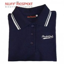 Classic polo with logo - Rude Girl