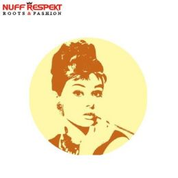 Audrey Hepburn button