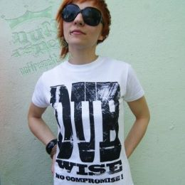 Dub Wise No compromise! tshirt