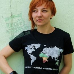 Freedom Fighters Map - rasta reggae tshirt