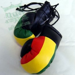 Plain rasta boxing glove