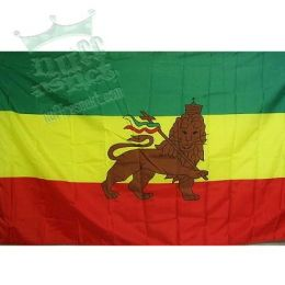 Rasta flag - Lion of Judah
