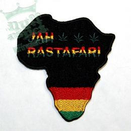 Africa Jah Rastafari patch