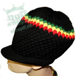 Dreadlock hat - rasta