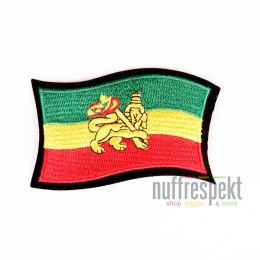 Rasta Lion patch