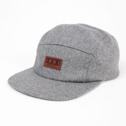Czapka 5panel Dub Respect | Szara