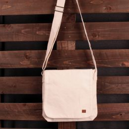 Dub Respect Natural Canvas Messenger bag