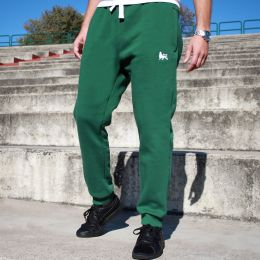 Dub Lion jogging trackies | green