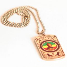 Rastafari Jah Son of Africa necklace