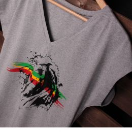 Jah Lion ladies oversize tshirt